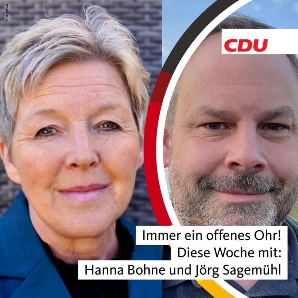 Bürgersprechstunde mit Hanna und Jörg