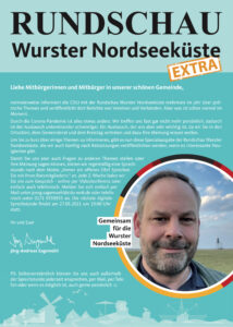 Rundschau Wurster Nordseeküste – Mai 2021